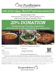 Souplantation Fun Raiser