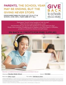Office Depot Parent Flyer